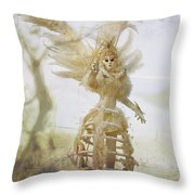 Venice Costume Fun Throw Pillow