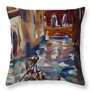 Venice Impression V Throw Pillow