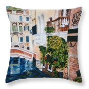 Venice- Italy Throw Pillow