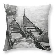 Venice Mmxii-ii  Throw Pillow