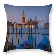 Venice Morning Throw Pillow