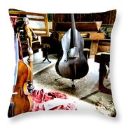 Venice Music 1 Throw Pillow by Dana Patterson