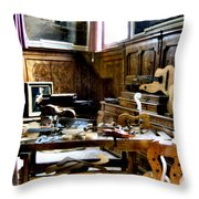 Venice Music 2 Throw Pillow by Dana Patterson