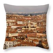 Venice Italy - No Canals Throw Pillow