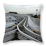 Venice People Mover Throw Pillow