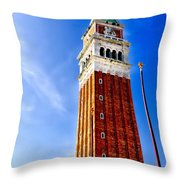 Venice - St Marks Square Throw Pillow