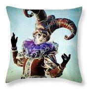 Venice Style Throw Pillow