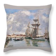 Venice. The Grand Canal Throw Pillow