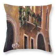 Venice Windows Throw Pillow