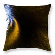 Ventilation Tunnel 2 Throw Pillow