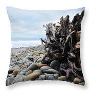 Ventura Driftwood  Throw Pillow