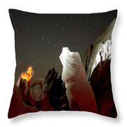 Venus And Mars Throw Pillow