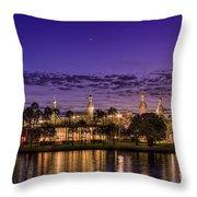 Venus Over The Minarets Throw Pillow