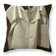 Venus Rising From The Sea. A Deception Throw Pillow