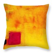 Venus Rising - Remastered Mixed Media Art By Sharon Cummings Throw Pillow