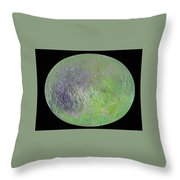 Venus Transmuting During Solar Eclipse Throw Pillow