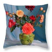 Venus's Bouquet Throw Pillow
