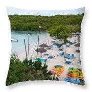 Verandah Resort Throw Pillow