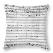 Verdi Rigoletto, 1850 Throw Pillow