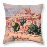 Verdun Throw Pillow