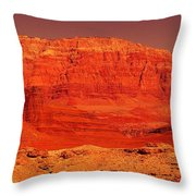 Vermilion Cliffs Throw Pillow