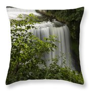 Vermillion River Falls 2 A Throw Pillow