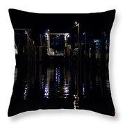 Vermont Ferry Throw Pillow