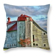 Vermont Rustic Beauty Throw Pillow by Deborah Benoit