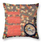 Vernal Equinox Hare Throw Pillow