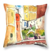 Vernazza In Italy 02 Throw Pillow