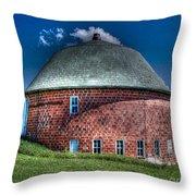 Vernon County Barn Throw Pillow