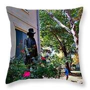 Vernon-wister House Throw Pillow