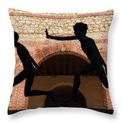 Verona Sculpture Throw Pillow