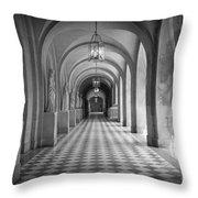 Versailles Hallway Throw Pillow