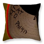 Verse In The Brim Throw Pillow