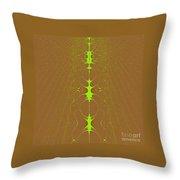 Vertebrae II Throw Pillow