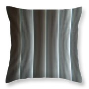 Vertical Blinds Throw Pillow