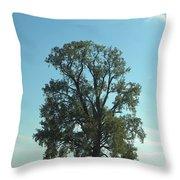 Vertical Tree Throw Pillow