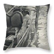 Vertical Venice IIi Mmxi Throw Pillow