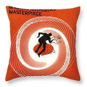 Vertigo Throw Pillow by Georgia Fowler