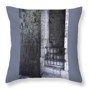 Very Old City Architecture No 2 Throw Pillow