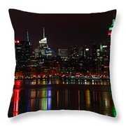 Very Rich Neighbors Throw Pillow