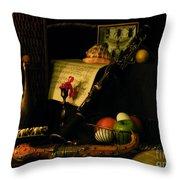 Very Very Still Life Throw Pillow