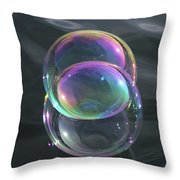 Vesica Piscis Throw Pillow