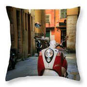 Nicoise Scooter Throw Pillow