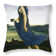 Vesper The Evening Star Throw Pillow