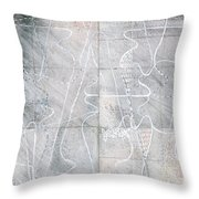 Vessel Scape Throw Pillow