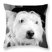 Veteran Vaudeville Stage Actor Throw Pillow