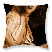 Vh #11 In Amber Throw Pillow