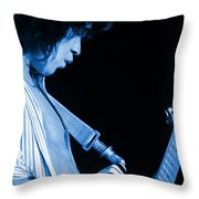Vh #18 In Blue Throw Pillow